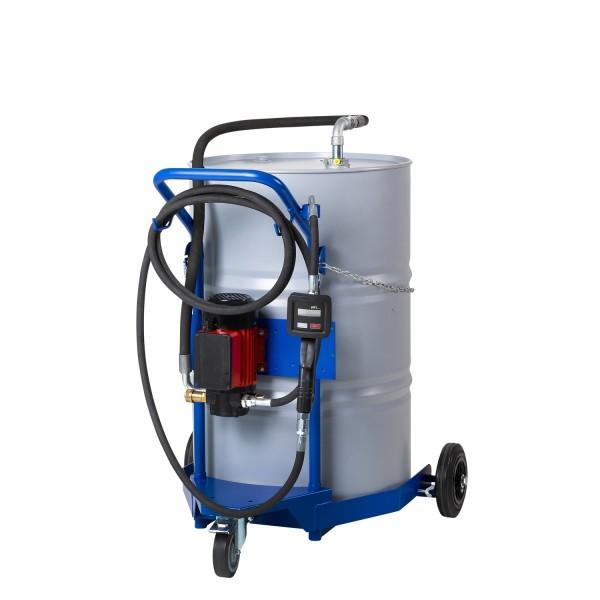 Ölausgabewagen mit Elektro-Pumpe für 200/220 Liter Behälter
