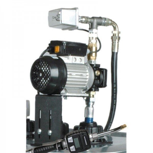 Elektronische Ölpumpe - für Tank - 9 l/min - 230 V - elektr. Handdurchlaufzähler