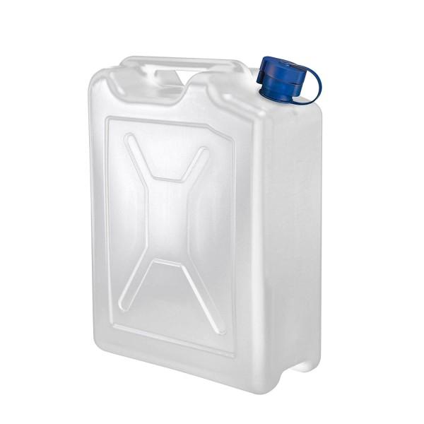 PE Kanister 20l weiß für AdBlue mit flexiblem Auslauf