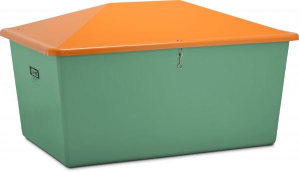 Streugutbehälter 2200l grün Var. 1