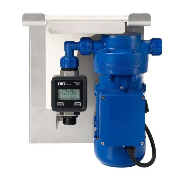 AdBlue Pumpenset IBC SEC-Adapter mit Zähler 230 V