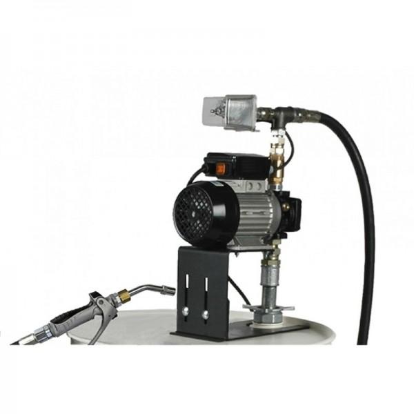 Elektronische Ölpumpe - 9 l/min - 230 V - elektr. Handdurchlaufzähler - für 200 Liter Fässer