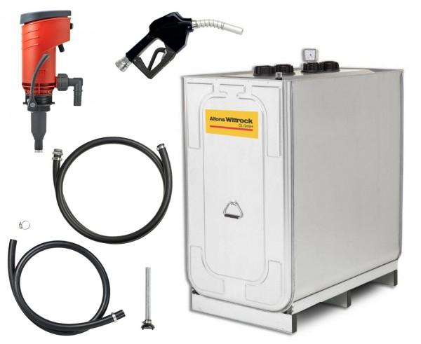 Kompakttankanlage Diesel Indoor Basic