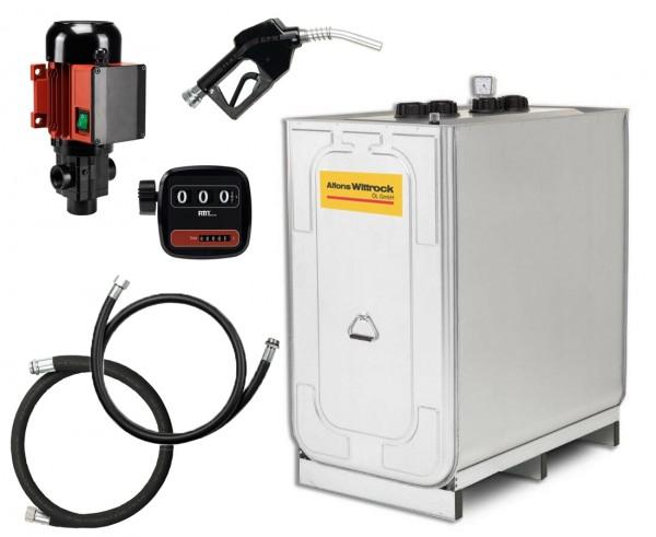 Kompakttankanlage Diesel Indoor Premium mit Zählwerk