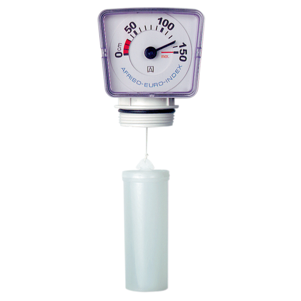 Füllstandsmeßgerät-Uhr